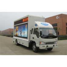 JAC 4*2 mobile LED advertising truck